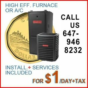HIGH EFFICIENCY FURNACE, A/C, TANKLESS> RENT-TO-OWN - BAD CREDIT