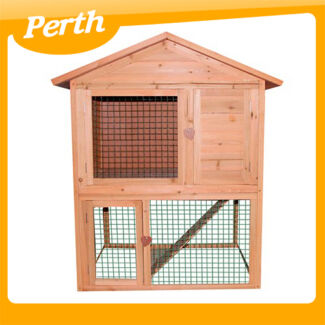 Double Storey Rabbit Hutch 115x98x80cm  8028 WA Canning Vale Canning Area Preview