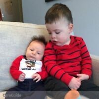 Need a nanny for my two boys