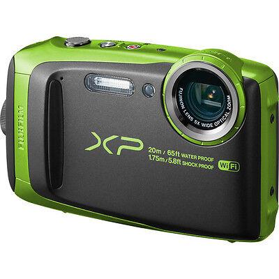 Fujifilm FinePix XP120 Digital Camera - Lime