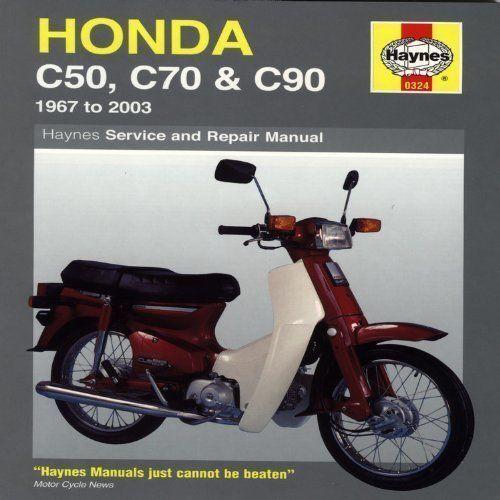 Haynes Manual Honda C50 C70 C90 1967-2003 Workshop Repair Manual
