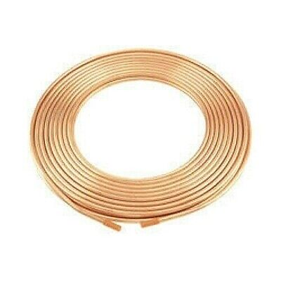 38 Od X 50 Copper Refrigeration Tubing Coil - Diy Beer Wort Chiller Brewing