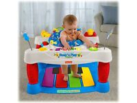 Fisher price step n play bouncer