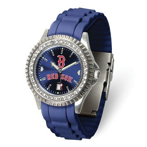 MLB Boston Red Sox Ladies Sparkle Watch Style: XWL1199 $64.8