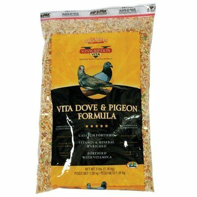 Sun Seed Company BSS01082 Vita Dove and Pigeon Diets Food, 25-Pound