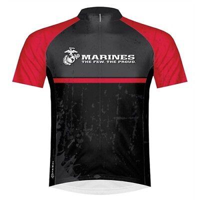 Marines Cycling Jersey Mens Small S Primal Wear Battalion USMC New Short  Sleeve 923037c1b