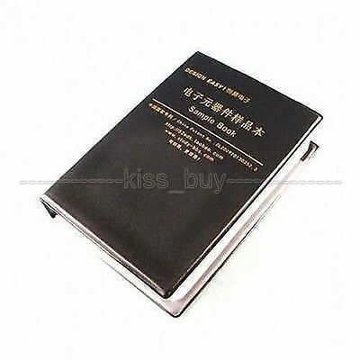 Smd Smt Resistor Capacitor Assortment Electronic Components Sample Book