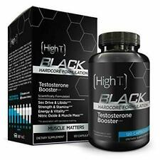 High T Black Testosterone Booster Supplement LIMITED TIME BONUS SALE, get More!