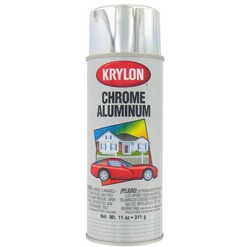 Krylon 1404 12-oz Brilliant Metallic-Like Finish Chrome Aluminum Spray Paint