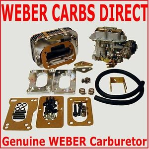 GENUINE WEBER 32/36 DGEV E-CHOKE CARB CARBURETOR KIT TOYOTA PICKUP K746 WK746