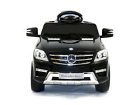 New Mercedes ML350 6V Electric Ride on Kids Car with Remote - White Or Black