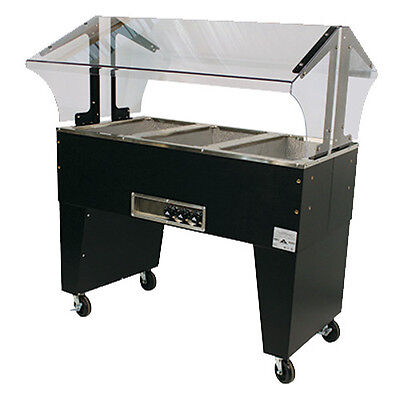 "Advance Tabco B3-120-B 47"" Electric Portable Hot Food Buffet Table"