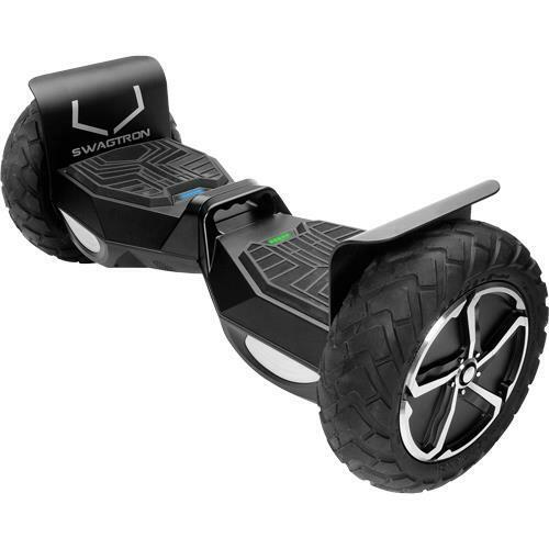 Swagtron SWAGTRON T6 T6 Outlaw SentryShield 12 MPH 12 Mile Range Hoverboard -...