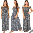 Polyester Off-Shoulder Sleeve Maxi Maternity Dresses