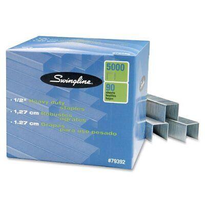 Swingline Sf39 Heavy-duty Staples - 100 Per Strip - 0.50 Leg - 0.50 Swi79392