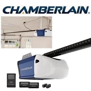 NEW CHAMBERLAIN GARAGE DOOR OPENER PD512 225279401 1/2HP DURABLE CHAIN DRIVE OPERATION
