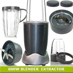 New-12PCS-Magic-600W-Nutri-Flash-Extractor-Bullet-Blender