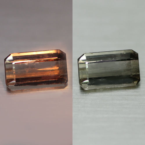 1.13CTS  ULTRA RARE TOP QUALITY 100% NR  COLOUR CHANGE AXINITE