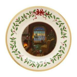 lenox annual christmas plate