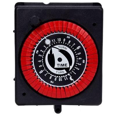 Intermatic 24-Hour Panel Mount Pool & Spa Pump Timer -Manual Override PB913N66