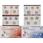 2001 US Coin Mint Sets