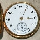 Elgin Solid Gold 16 Pocket Watch Antique Pocket Watches