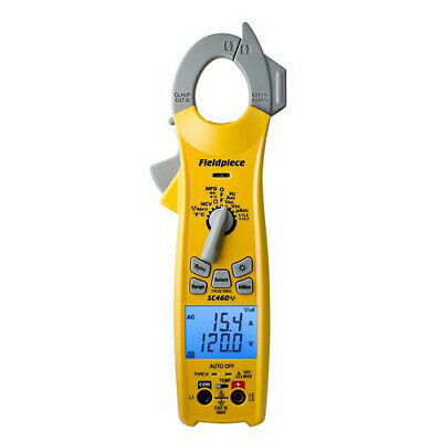 Fieldpiece Sc460 Trms Wireless Ac Clamp Meter 600vacdc 400a Inrush