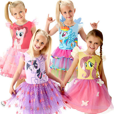 My Little Pony Girls Fancy Dress Cartoon Book Week Day Childs Character Costume - Cartoon Character Costumes For Girls
