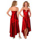 Satin Prom Ball Gowns for Women