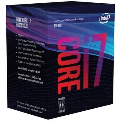 Intel Core i7-8700K Desktop Processor 6 Cores up to 4.7GHz T