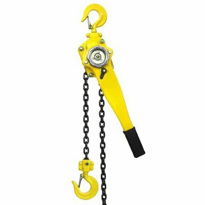 34 Ton Ratcheting Lever Block Chain Hoist 10 Ft Lift Come Along Puller