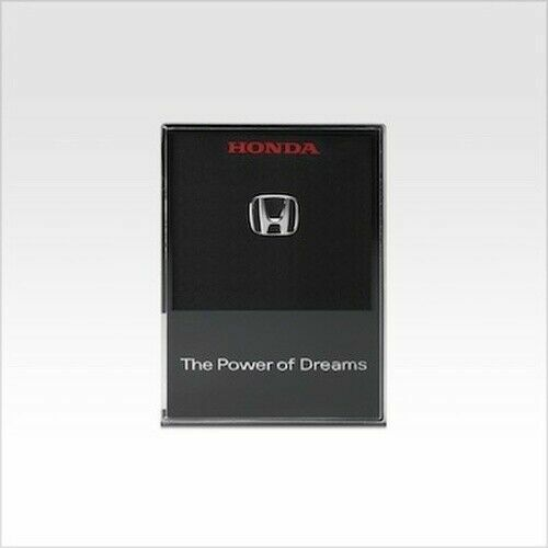 "Honda ""H"" Mark Badge Pins Soichiro Honda With display case Official Limited"