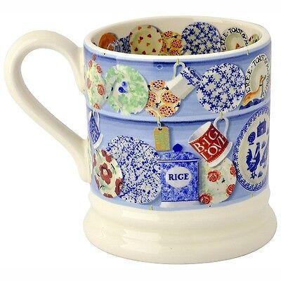 Emma Bridgewater Blue Sanderson Dresser Half Pint Mug Boxed