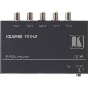 Kramer Electronics 104R Distribution Amplifier for TV & Satellit
