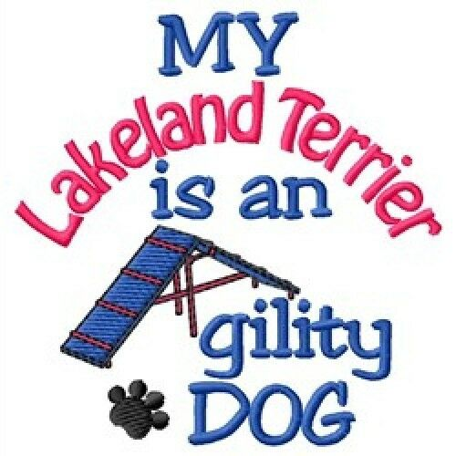 My Lakeland Terrier is An Agility Dog Fleece Jacket - DC1956L Size S - XXL