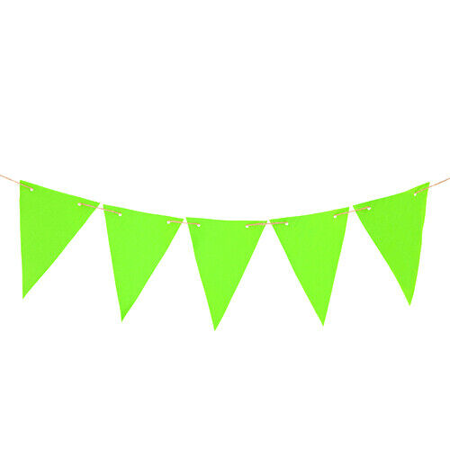 Lime+40ft+%2812M%29+Waterproof+Fabric+Outdoor+Living+Garden+Bunting+Patio+Decoration