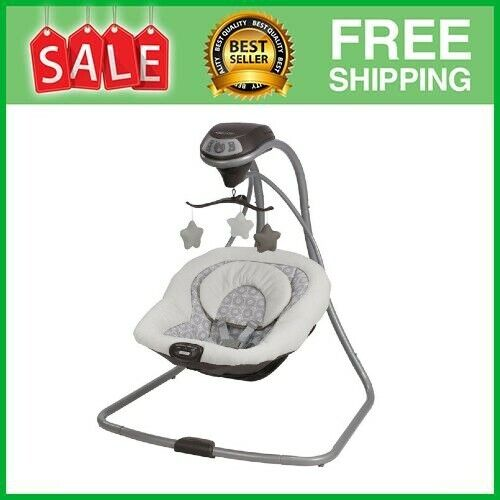 Simple Sway Baby Swing, Abbington Infant Bouncer Seat Swaying Relaxation
