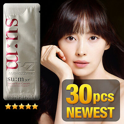 - SU:M37 Secret Eye Cream 30pcs Anti-Wrinkle Anti-Aging Newest Ver SUM37 + Gift