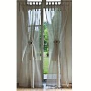 Linen Tab Top Curtains