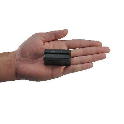 Mini Msr Wireless Portable Credit Card Reader Recorder Data Collector Skimmer
