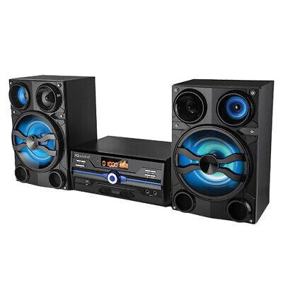 Supersonic SC9000BT Alexa Wi-fi Bluetooth Speaker Black (sc9000w)
