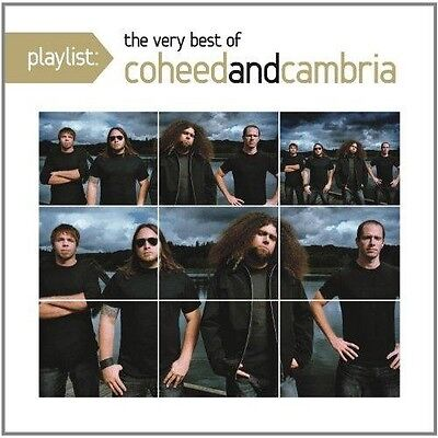 COHEED AND CAMBRIA Playlist: The Very Best Of CD BRAND NEW w/ CD