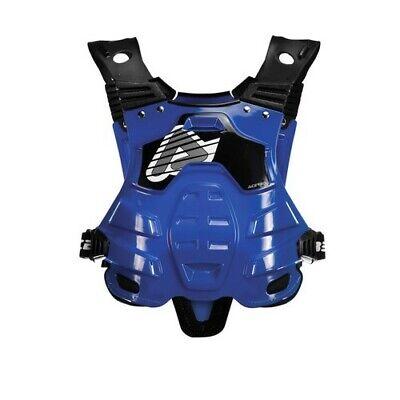 New Adult Acerbis Profile Body Armour Motocross Neck Brace Compatible Blue