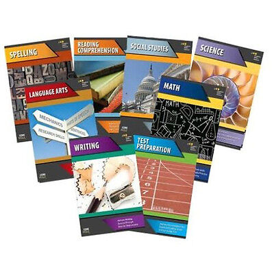6th Grade Basic Skills 8-Subject Curriculum Common Core Workbook Homeschool 6