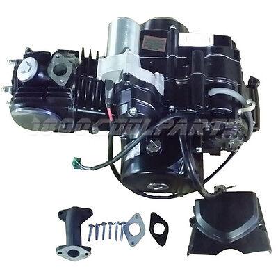 125CC SEMI AUTO ENGINE MOTOR W/ REVERSE ATV QUAD GO KART 3+1 4-STOKE XR50 CRF50