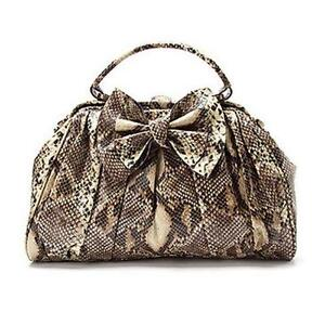 c90f3036407 Jessica Simpson Snakeskin Handbag
