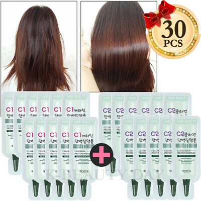 MOETA Premium Protein Hair Ampoule 30pcs Intensive treatment for damaged hair