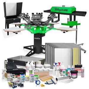 Entrepreneur Plus Complete Screen Printing Shop Package