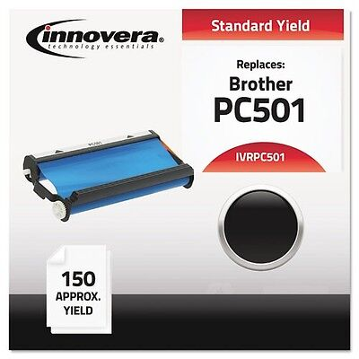 1PK Brother PC501 Compatible Thermal Fax Ribbon, 100% Guaranteed Quality (Brother Compatible Thermal Ribbon)