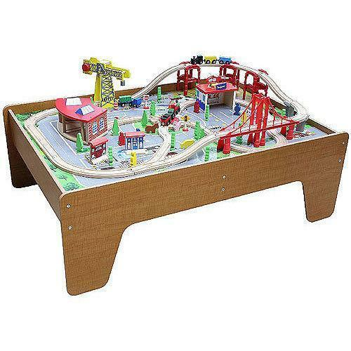 Wooden Activity Table Ebay